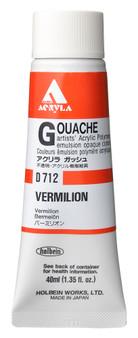 Holbein Acryla Gouache 40ml Vermilion