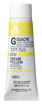 Holbein Acryla Gouache 40ml Cream Yellow