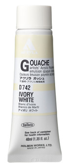 Holbein Acryla Gouache 40ml Ivory White