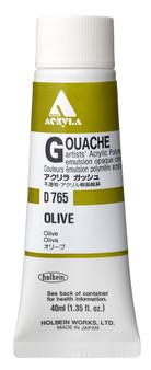 Holbein Acryla Gouache 40ml Olive