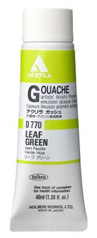 Holbein Acryla Gouache 40ml Leaf Green
