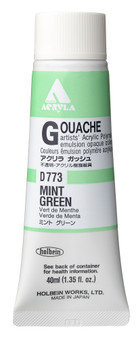 Holbein Acryla Gouache 40ml Mint Green