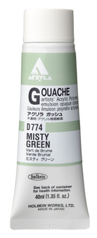 Holbein Acryla Gouache 40ml Misty Green