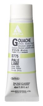 Holbein Acryla Gouache 40ml Pale Lime