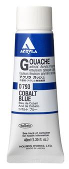 Holbein Acryla Gouache 40ml Cobalt Blue