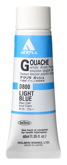 Holbein Acryla Gouache 40ml Light Blue