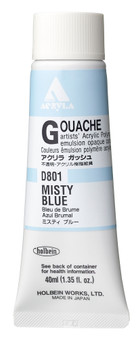 Holbein Acryla Gouache 40ml Misty Blue