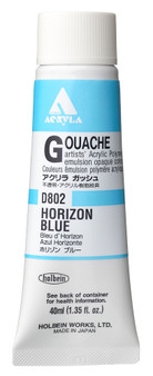 Holbein Acryla Gouache 40ml Horizon Blue