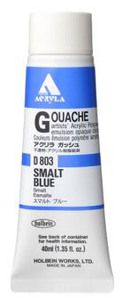 Holbein Acryla Gouache 40ml Smalt Blue
