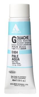 Holbein Acryla Gouache 40ml Pale Aqua
