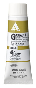 Holbein Acryla Gouache 40ml Ash Yellow