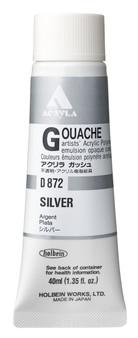 Holbein Acryla Gouache 40ml Silver