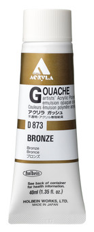 Holbein Acryla Gouache 40ml Bronze