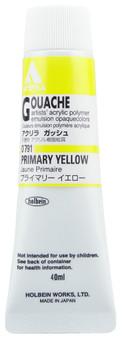 Holbein Acryla Gouache 40ml Primary Yellow