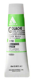 Holbein Acryla Gouache 40ml Luminous Green