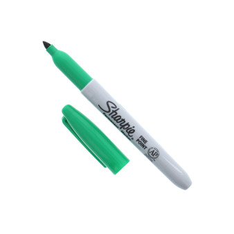 Sharpie Permanent Marker Fine Green