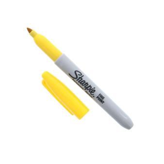 Sharpie Permanent Marker Fine Yellow
