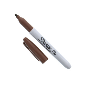 Sharpie Permanent Marker Fine Brown