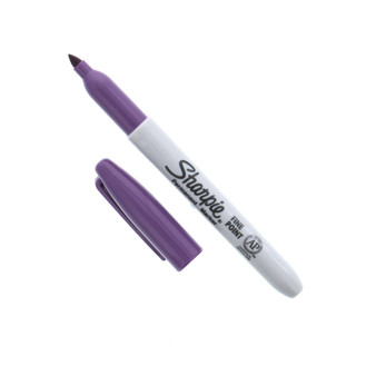Sharpie Permanent Marker Fine Purple