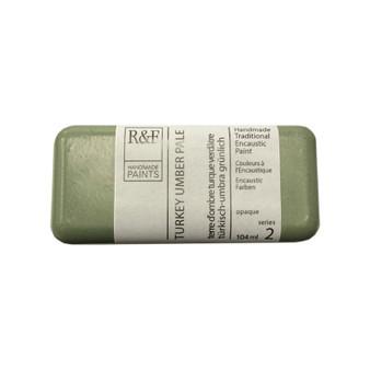 R&F Encaustic Paint 104ml Turkey Umber Pale
