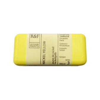 R&F Encaustic Paint 104ml Nickel Yellow