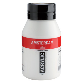 Amsterdam Acrylic 1000ml Jar Titanium White