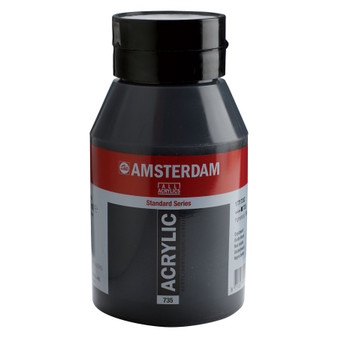 Amsterdam Acrylic 1000ml Jar Oxide Black