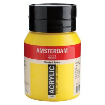 Amsterdam Acrylic 500ml Jar Azo Yellow Light