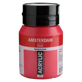 Amsterdam Acrylic 500ml Jar Primary Magenta