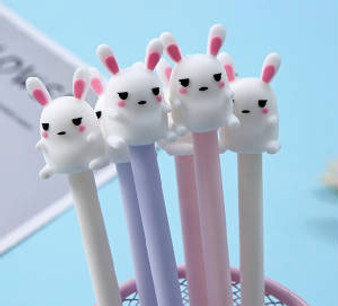 BC Mini Toy Gel Pen Bunny - Assorted Style Single Item