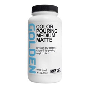 Golden Acrylic Color Pouring Medium Matte 16oz