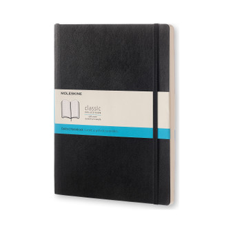 Moleskine Classic Notebook Soft Cover Extra-Large Dotted Black