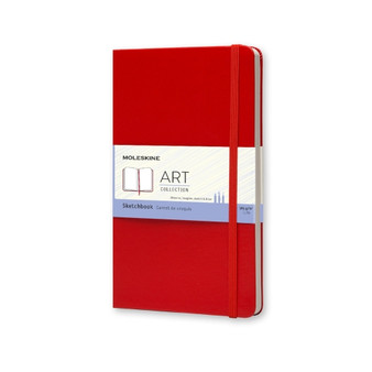 Moleskine Classic Sketchbook Large Red