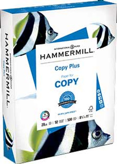 Hammermill Copy Plus 20lb Paper Ream of 500 Sheets