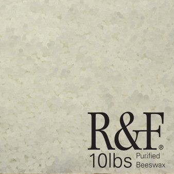 R&F White Beeswax 10lb