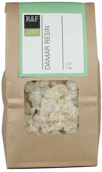 R&F Damar Resin Crystals 1lb Bag
