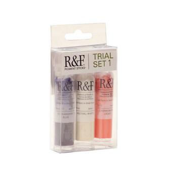 R&F Pigment Stick 1/2 Stick Trial Set 1