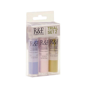 R&F Pigment Stick 1/2 Stick Trial Set 2