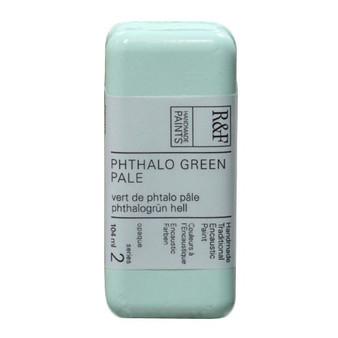 R&F Encaustic Paint 104ml Phthalo Green Pale