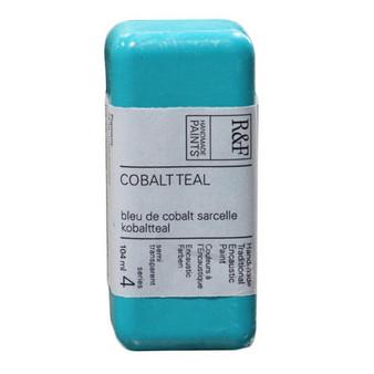 R&F Encaustic Paint 104ml Cobalt Teal