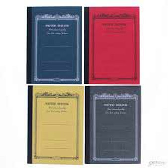 "Apica Scroll Notebook ""CD"" Mini 4x2.75"" Assorted Warm Colors"