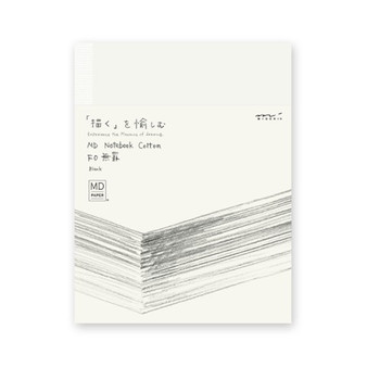 Midori MD Cotton Blank Notebook F0 Soft Cover