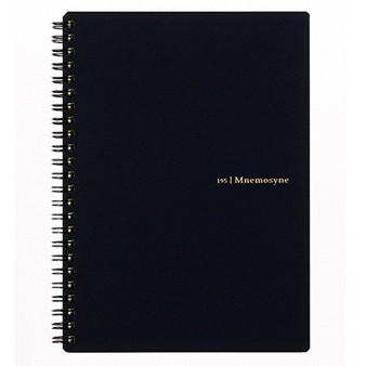 Mnemosyne 7mm Lined Notebook A5