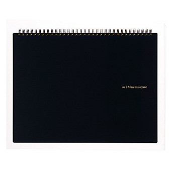 Mnemosyne Blank Notebook A4