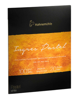 Hahnemuhle The Collection Series Ingres Pastel Pad White 9.5x12""