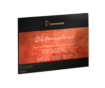 Hahnemuhle The Collection Series Watercolor Block 9x12 Rough 300lb (640gsm)