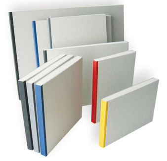 Kunst & Papier Binder Pad Grey 8.25x11.75