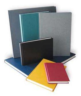Kunst & Papier Hardbound (Efalin) Sketchbook 8.25x11.75 Grey