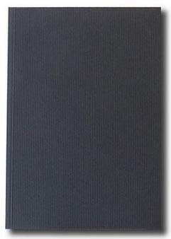 Kunst & Papier Jumbo Soft Cover 8.3x11.7 Black