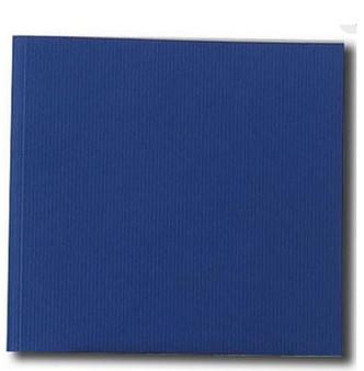 Kunst & Papier Jumbo Soft Cover 8.3x7.9 Blue - Landscape